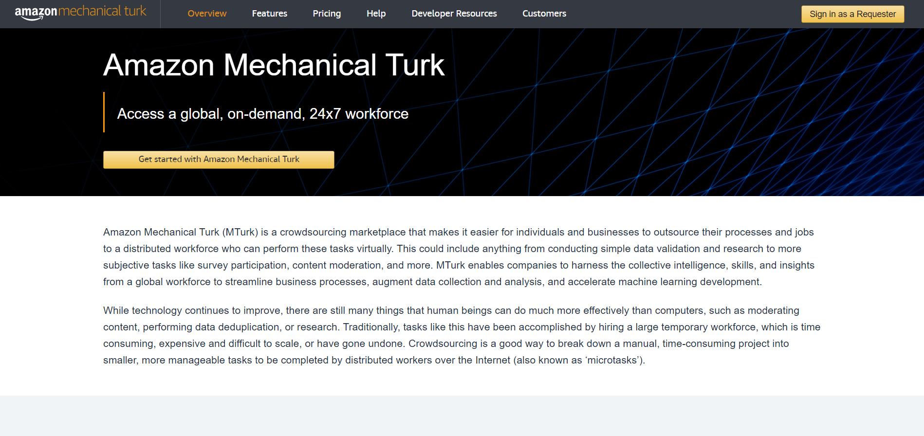 Amazon Mechanical Turk